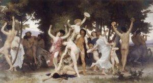 La juventud de Baco - William A. Bouguereau